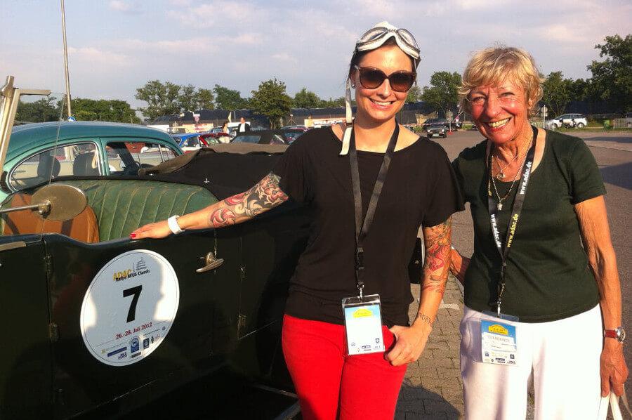 ADAC Rallye Avus Classic avec Heidi Hetzer